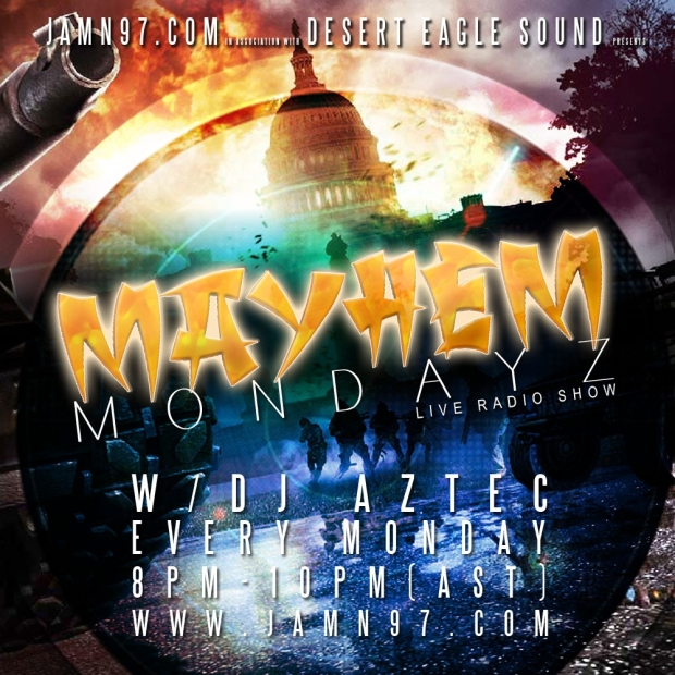 MAYHEM MONDAYZ with DJ AZTEC